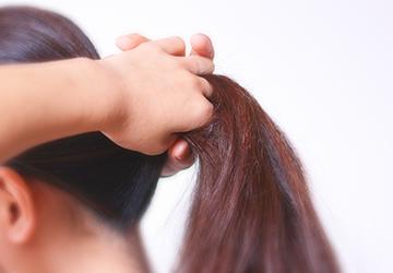 感染による脱毛症